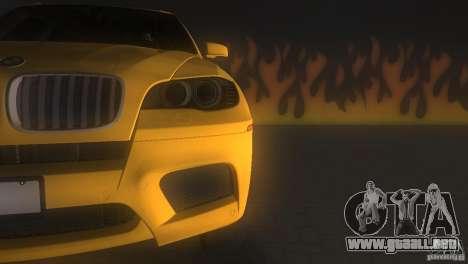 BMW X5 para GTA Vice City vista interior