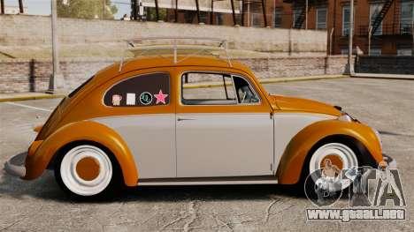 Volkswagen Fusca Edit para GTA 4 left