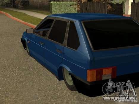 VAZ 2109 para visión interna GTA San Andreas