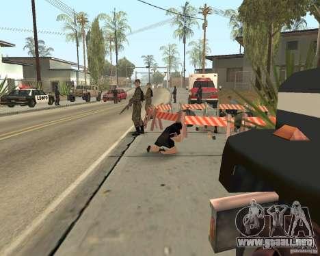 Escena del crimen (escena del crimen) para GTA San Andreas séptima pantalla