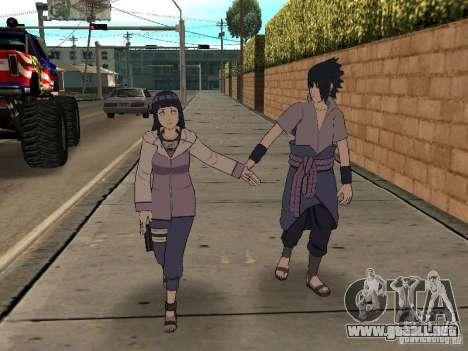 Skin Pack From Naruto para GTA San Andreas quinta pantalla