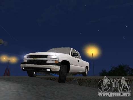 Chevorlet Silverado 2000 para GTA San Andreas interior