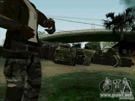 Ametralladora de Duke Nukem Forever para GTA San Andreas tercera pantalla