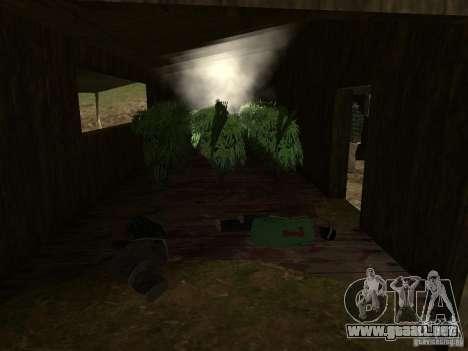 Drug Assurance para GTA San Andreas quinta pantalla