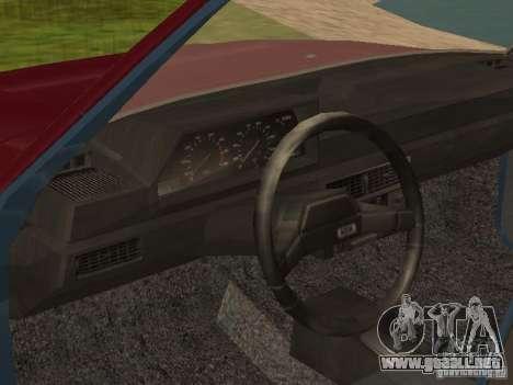 AZLK Moskvich 2141 para la visión correcta GTA San Andreas