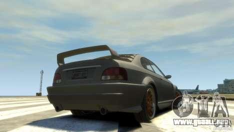 Sentinel Grand Sport para GTA 4 Vista posterior izquierda