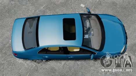 Volkswagen Jetta 2010 para GTA 4 visión correcta