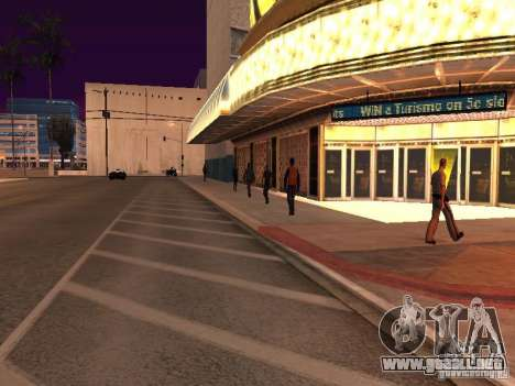Parking Save Garages para GTA San Andreas octavo de pantalla