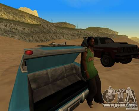 Playa večirinka para GTA San Andreas tercera pantalla