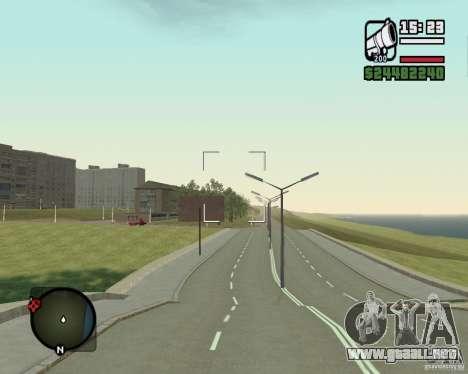 Gosport Road-Nižegorodsk para GTA San Andreas segunda pantalla