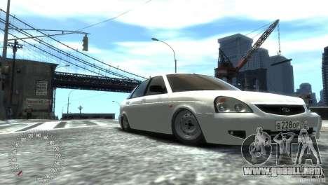 VAZ-2172 Pitbull para GTA 4 visión correcta