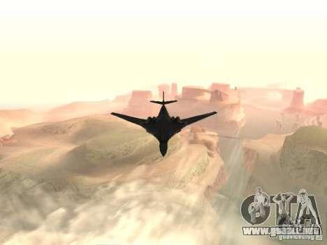 Tu 160 Black Jack para la visión correcta GTA San Andreas