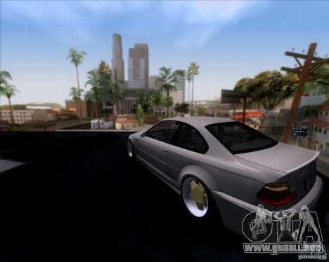 BMW 3-er E46 Dope para GTA San Andreas left