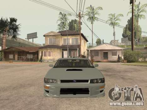 Sultan Impreza v1.0 para visión interna GTA San Andreas
