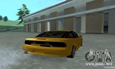 Nissan 200SX Turbo para GTA San Andreas left