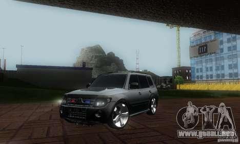 Mitsubishi Pajero FBI para GTA San Andreas
