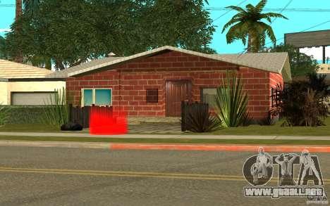 Nuevas texturas casa Denis para GTA San Andreas quinta pantalla