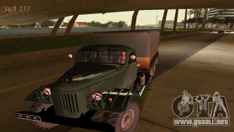 ZIL-157 para GTA Vice City vista lateral izquierdo