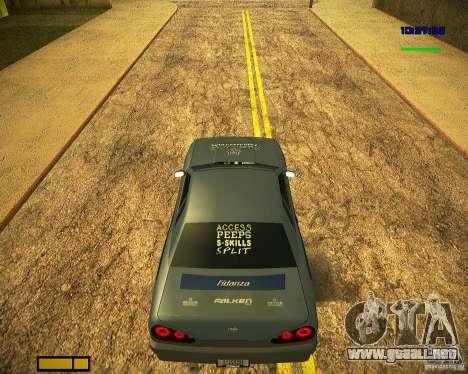 Pak vinilos para Elegy para vista inferior GTA San Andreas
