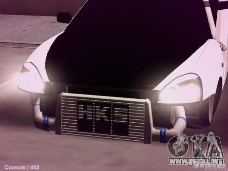 VAZ-2172 para la visión correcta GTA San Andreas