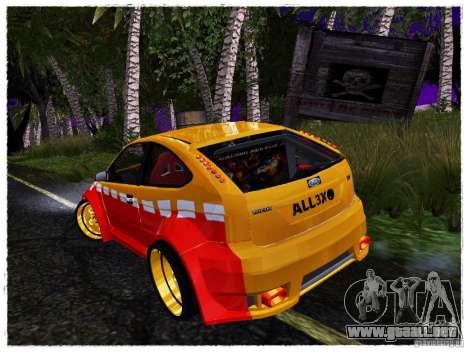 Ford Focus ST Calibri-Ace para la visión correcta GTA San Andreas