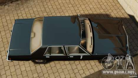 Ford LTD Crown Victoria 1987 para GTA 4 visión correcta