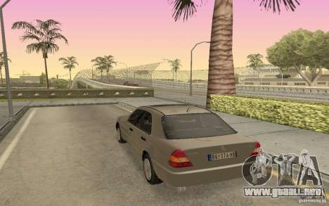Mercedes Benz C220 para GTA San Andreas left