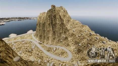 Pico de la montaña para GTA 4 segundos de pantalla