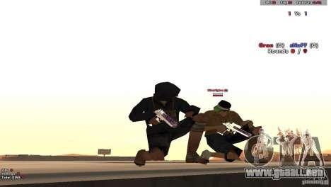 New Chrome Guns v1.0 para GTA San Andreas tercera pantalla