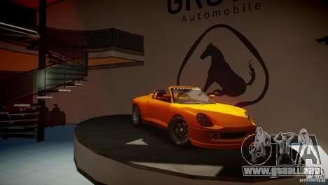 Comet Speedster para GTA 4 Vista posterior izquierda