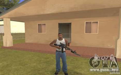 AK 103 para GTA San Andreas segunda pantalla