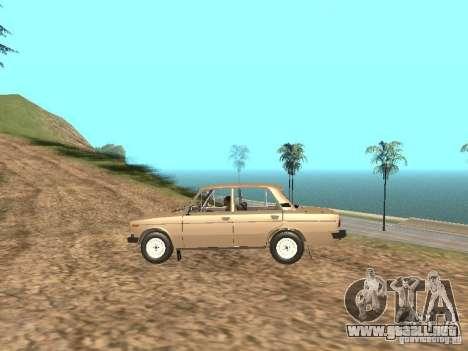 VAZ 2106 para visión interna GTA San Andreas