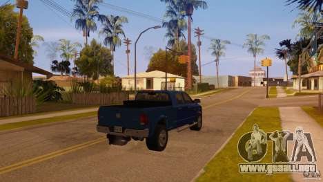 Dodge Ram 2500 HD 2012 para GTA San Andreas left