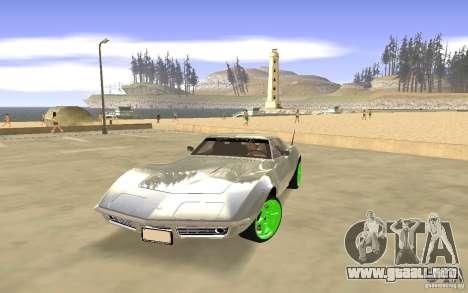 Chevrolet Corvette Stingray Monster Energy para GTA San Andreas
