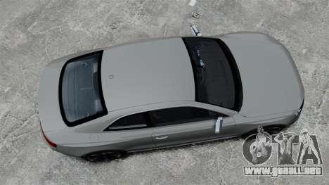 Audi RS5 2012 para GTA 4 visión correcta