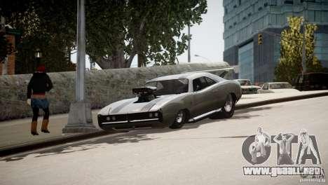 Dukes City-Drag para GTA 4 vista desde abajo