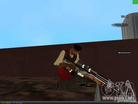 Graffiti Gun Pack para GTA San Andreas quinta pantalla