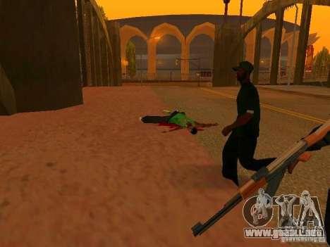 Grove Street Forever para GTA San Andreas tercera pantalla