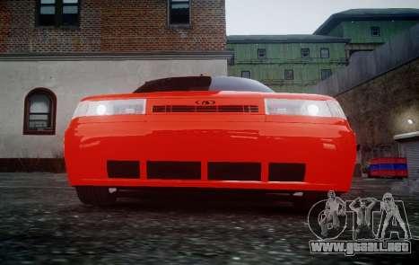 VAZ 2110 para GTA 4 Vista posterior izquierda