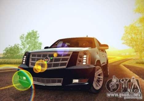 Cadillac Escalade ESV 2012 para GTA San Andreas