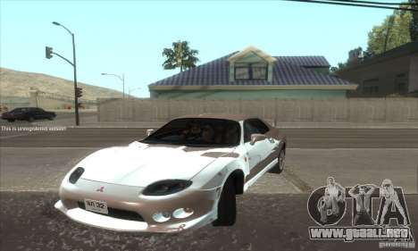 Mitsubishi FTO GP Version R 1998 para GTA San Andreas