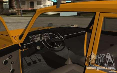 Gorynych IZH 2125 para GTA San Andreas vista hacia atrás