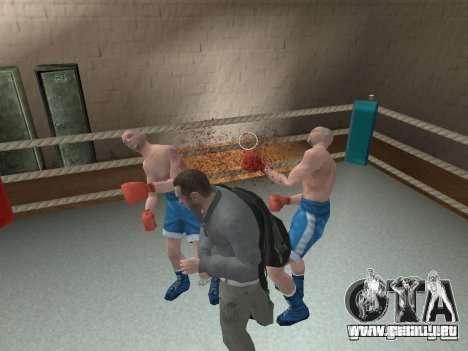 El sistema de combate de GTA IV V 2.0 para GTA San Andreas tercera pantalla