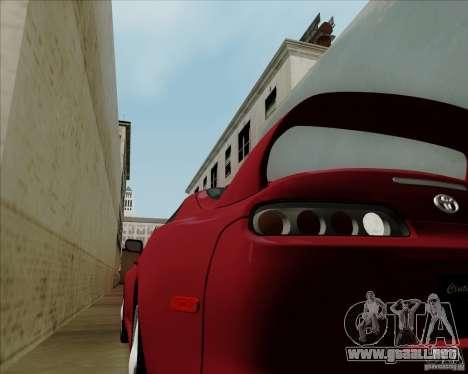 Toyota Supra RZ 98 Twin Turbo para la visión correcta GTA San Andreas