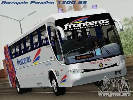 Marcopolo Paradiso 1200 G6 para GTA San Andreas