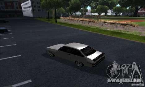 Ford Escort RS 1600 para la visión correcta GTA San Andreas