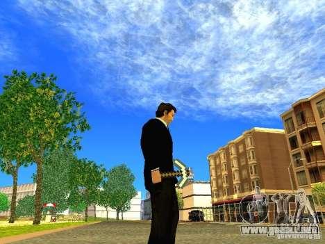 Escoger el juego Minecraft para GTA San Andreas sucesivamente de pantalla