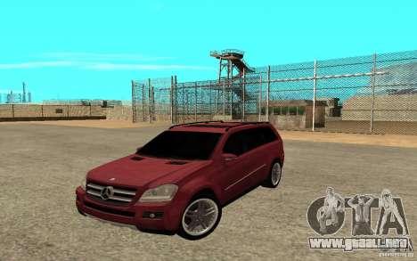 Mercedes-Benz GL500 V.2 para visión interna GTA San Andreas