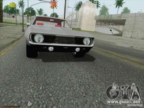 Chevrolet Camaro 1969 para GTA San Andreas