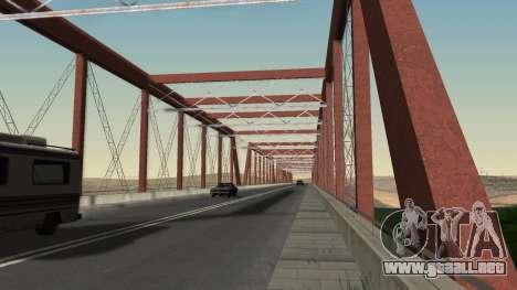 El nuevo puente de LS-LV para GTA San Andreas sucesivamente de pantalla